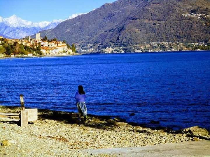 Miko at Lake Como