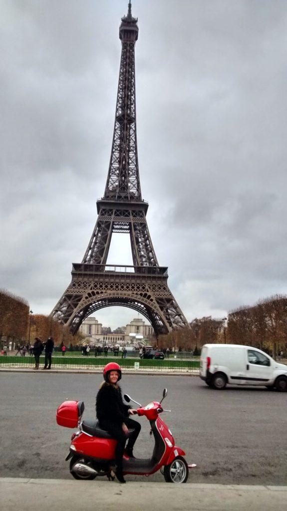 Scooting around Paris