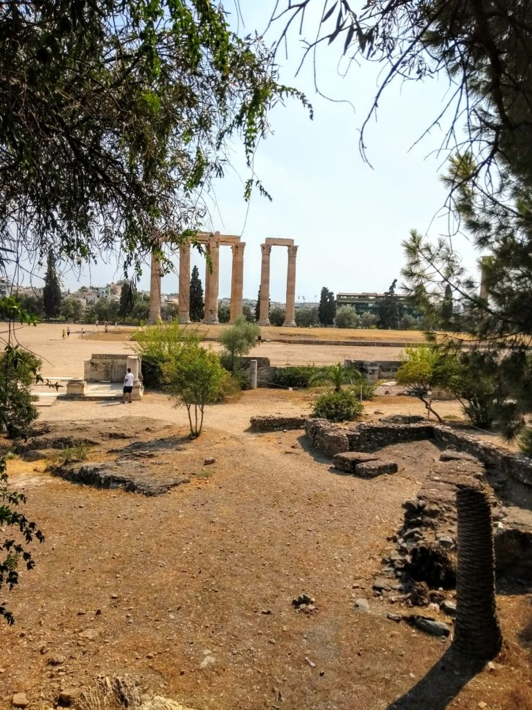 Temple of the Olypian Zeus