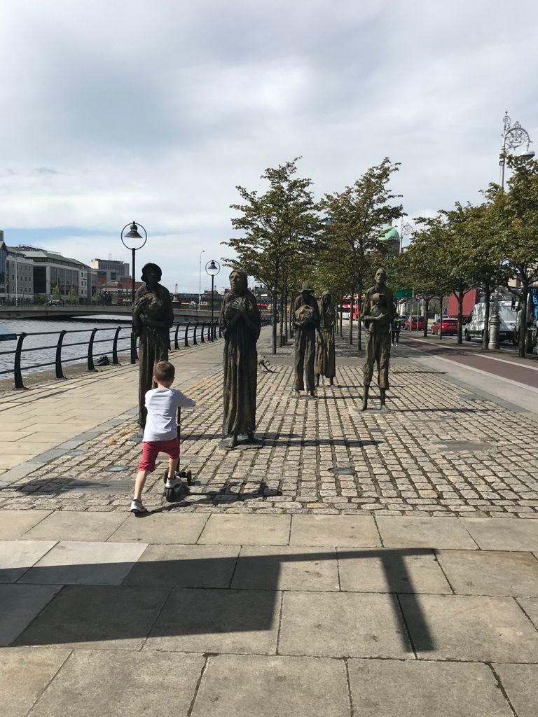 Dublin quayside