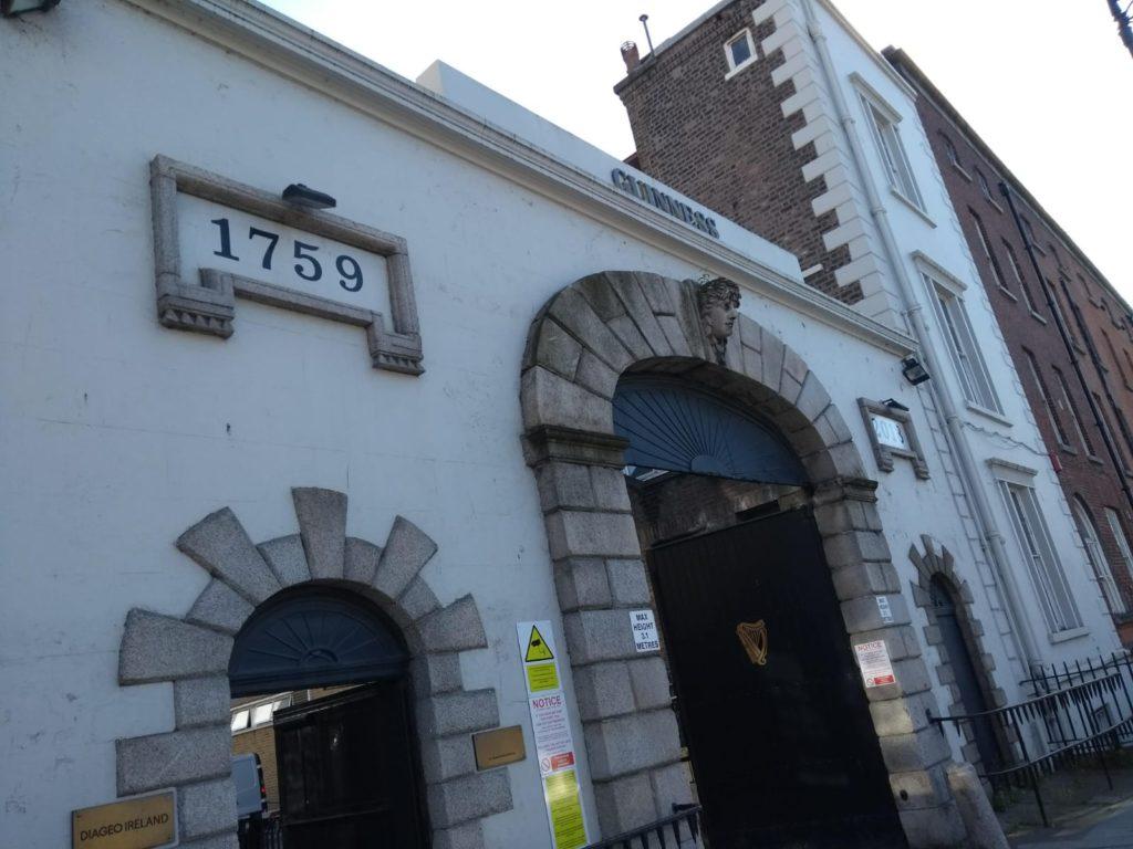 Dublin Guinness factory